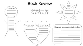 Book Review with Plot Diagram