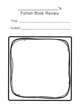 Book Review Writing Unit