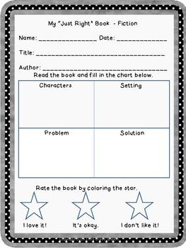Book Reviews / Summarizing Worksheets Grades 1-5
