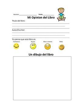 Book Reviews in Spanish - Opinion de Libro