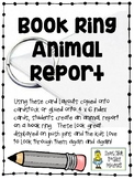 Book Ring Animal Report - Engaging Alternative to Basic Informational Reports