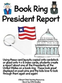 Book Ring for ANY President Report, with Cards/Layout