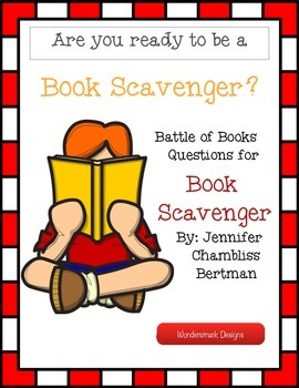 Book Scavenger Battle of the Books Questions