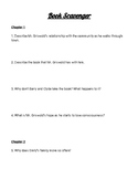 Book Scavenger by J. C. B. Comprehension Questions w/ Answ