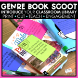 Book Scoot | First Day of School Activities | Back to School