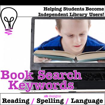 Book Search Keywords