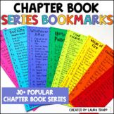 Book Series Bookmarks   Chapter Books