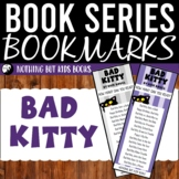 Book Series Bookmarks | Bad Kitty