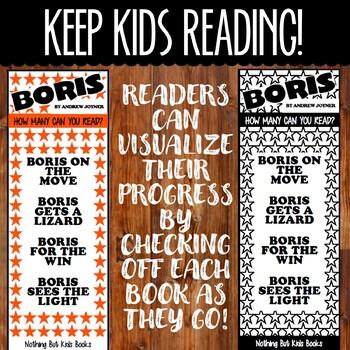 Book Series Bookmarks | Boris