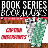 Book Series Bookmarks   Captain Underpants