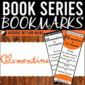 Book Series Bookmarks   Clementine