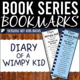 Book Series Bookmarks | Diary of a Wimpy Kid