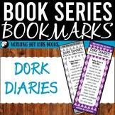 Book Series Bookmarks   Dork Diaries