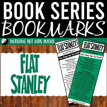 Book Series Bookmarks   Flat Stanley