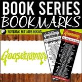 Book Series Bookmarks   Goosebumps