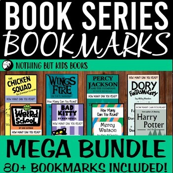 Book Series Bookmarks | Mega Bundle