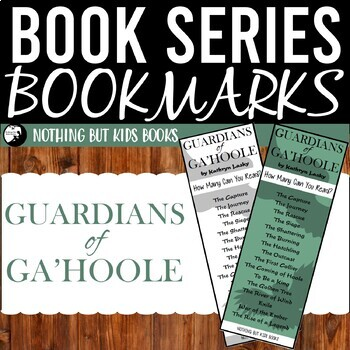 Book Series Bookmarks | Guardians of Ga'Hoole