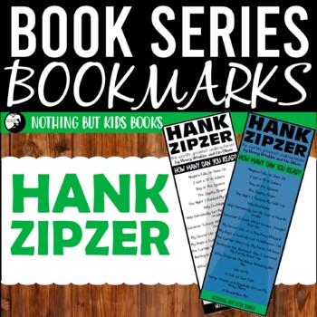 Book Series Bookmarks   Hank Zipzer