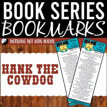 Book Series Bookmarks | Hank the Cowdog