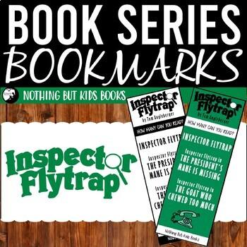 Book Series Bookmarks   Inspector Flytrap
