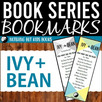 Book Series Bookmarks | Ivy and Bean