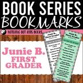 Book Series Bookmarks | Junie B., First Grader