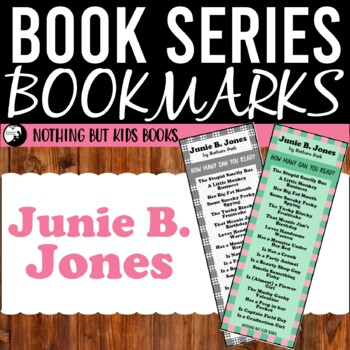 Book Series Bookmarks | Junie B. Jones