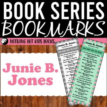 Book Series Bookmarks | Junie B. Jones