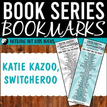 Book Series Bookmarks | Katie Kazoo Switcheroo