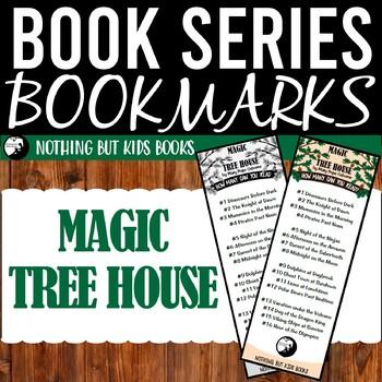 Book Series Bookmarks   Magic Tree House