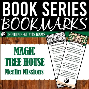 Book Series Bookmarks | Magic Tree House Merlin Missions