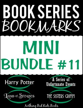 Book Series Bookmarks | Mini Bundle #11