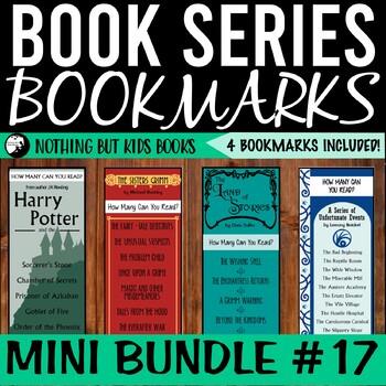 Book Series Bookmarks | Mini Bundle #17