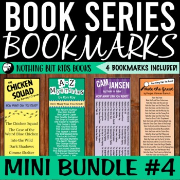 Book Series Bookmarks | Mini Bundle #4