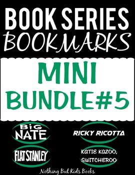 Book Series Bookmarks   Mini Bundle #5