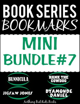 Book Series Bookmarks | Mini Bundle #7