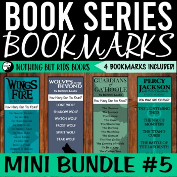 Book Series Bookmarks | Mini Bundle #9