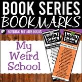 Book Series Bookmarks | My Weird School