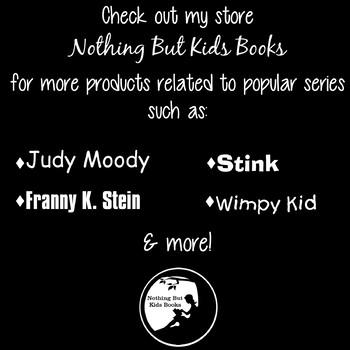 Book Series Bookmarks | Nancy Clancy