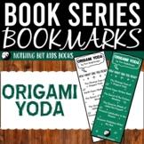 Book Series Bookmarks | Origami Yoda