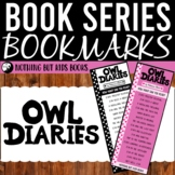 Book Series Bookmarks   Owl Diaries