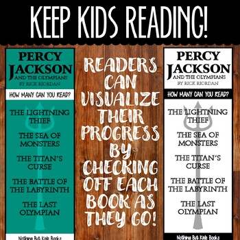 Book Series Bookmarks   Percy Jackson