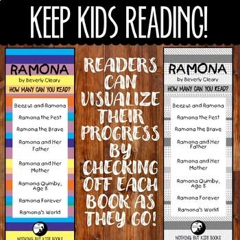 Book Series Bookmarks | Ramona
