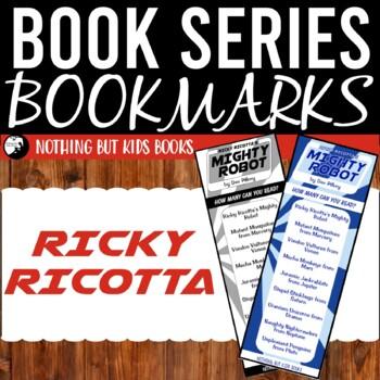 Book Series Bookmarks   Ricky Ricotta