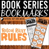 Book Series Bookmarks | Roscoe Riley Rules