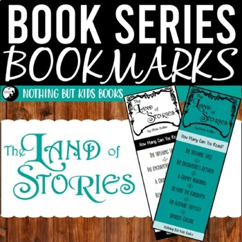 Book Series Bookmarks | The Land of Stories