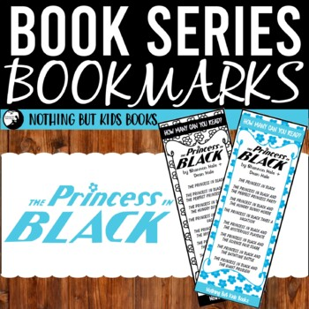 Book Series Bookmarks | The Princess in Black