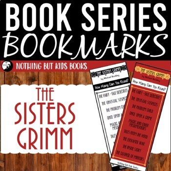 Book Series Bookmarks | The Sisters Grimm