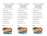 Book Series Club Bookmark IN SPANISH