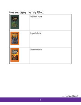 Book Series (MS & HS) Visual Aids - Which One Now?